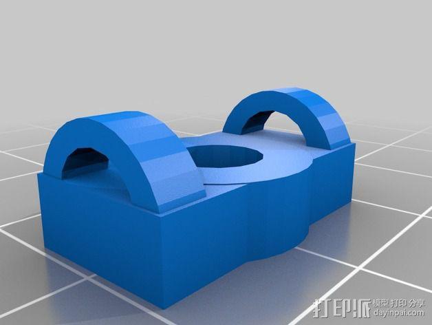 Griffin Delta式 3D打印机 3D模型  图9