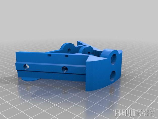 Griffin Delta式 3D打印机 3D模型  图11