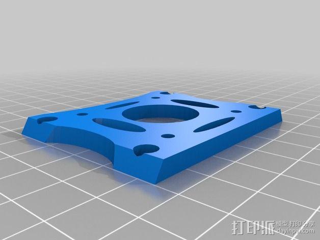 Griffin Delta式 3D打印机 3D模型  图12