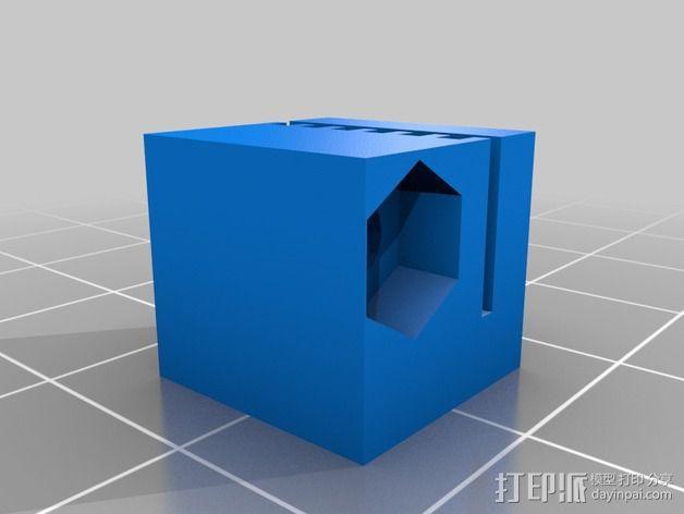 Griffin Delta式 3D打印机 3D模型  图10