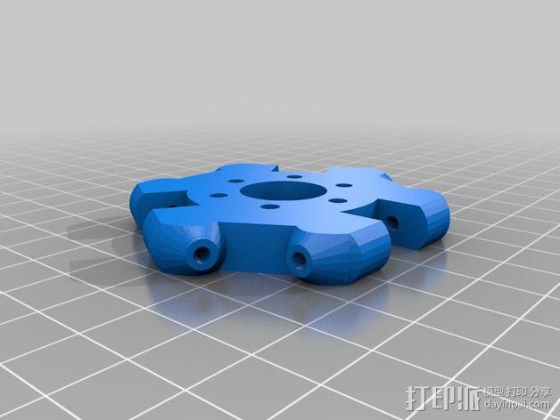 Griffin Delta式 3D打印机 3D模型  图14