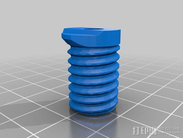 Griffin Delta式 3D打印机 3D模型  图16
