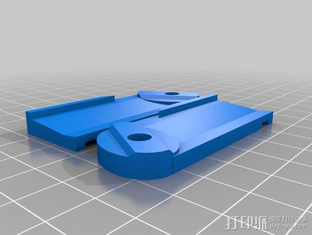 Griffin Delta式 3D打印机 3D模型  图15