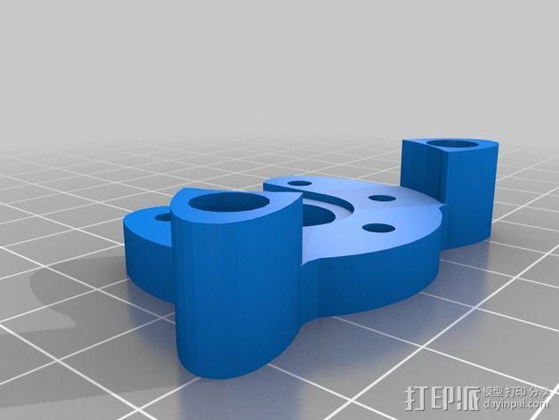 Griffin Delta式 3D打印机 3D模型  图19