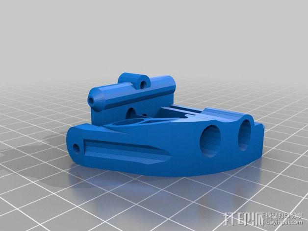 Griffin Delta式 3D打印机 3D模型  图21