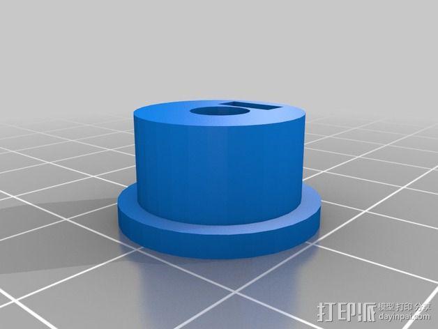 Griffin Delta式 3D打印机 3D模型  图20