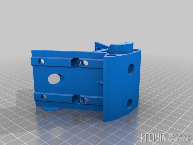 Griffin Delta式 3D打印机 3D模型  图23