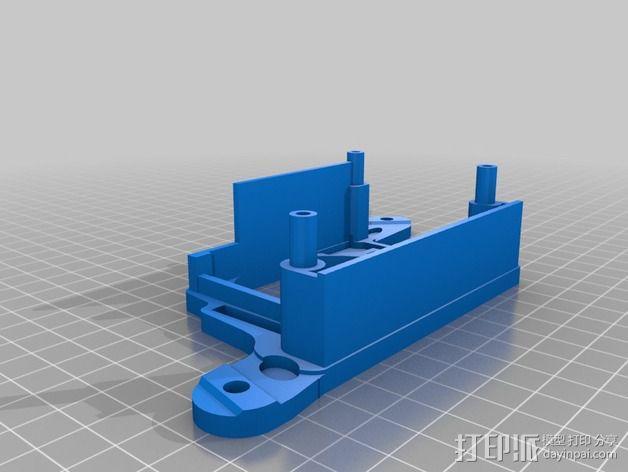 Griffin Delta式 3D打印机 3D模型  图22