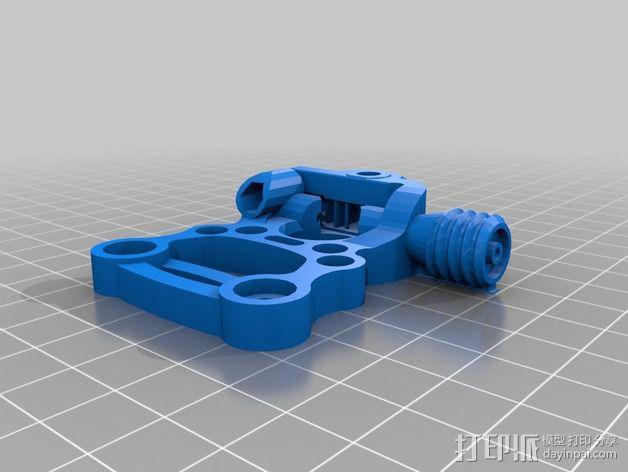 Griffin Delta式 3D打印机 3D模型  图24