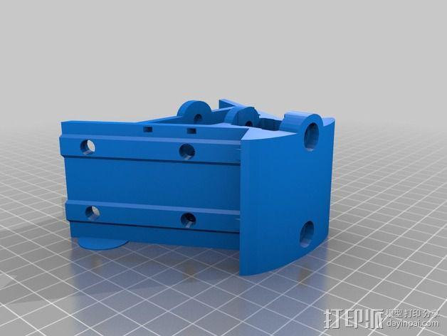 Griffin Delta式 3D打印机 3D模型  图26