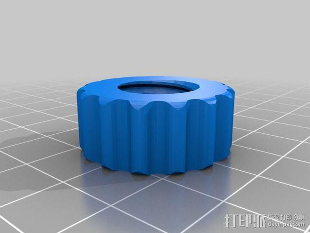 Griffin Delta式 3D打印机 3D模型  图25