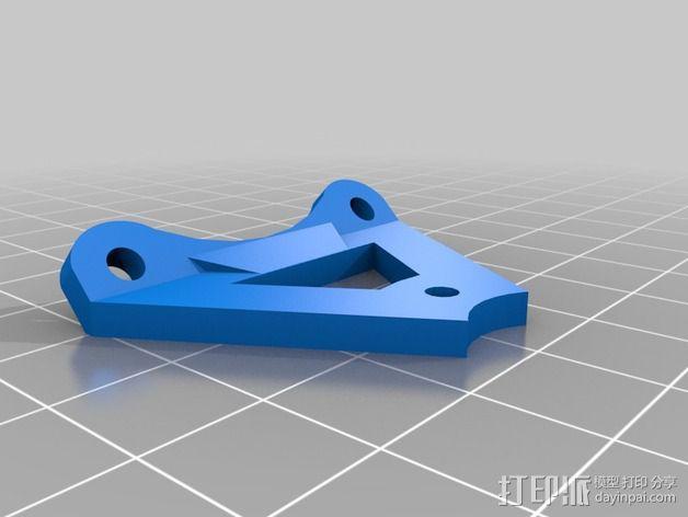 Griffin Delta式 3D打印机 3D模型  图27