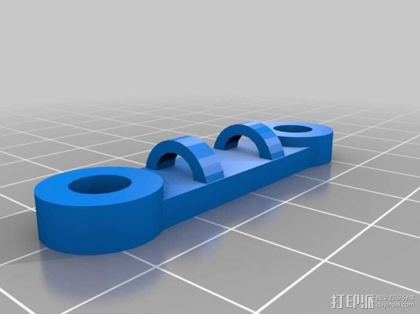Griffin Delta式 3D打印机 3D模型  图29
