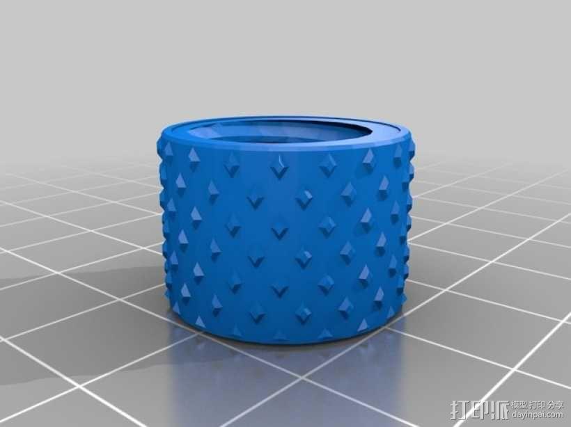Griffin Delta式 3D打印机 3D模型  图31