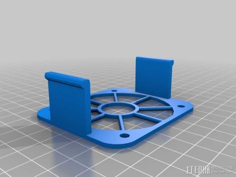 Griffin Delta式 3D打印机 3D模型  图30