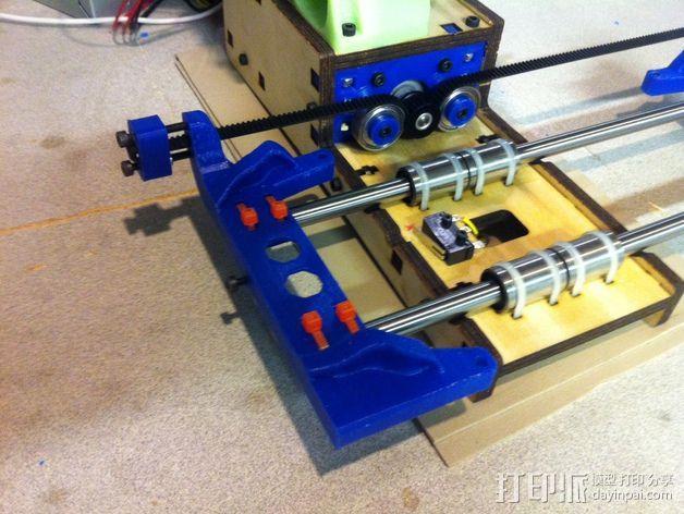 Printrbot打印机X轴部件 3D模型  图4