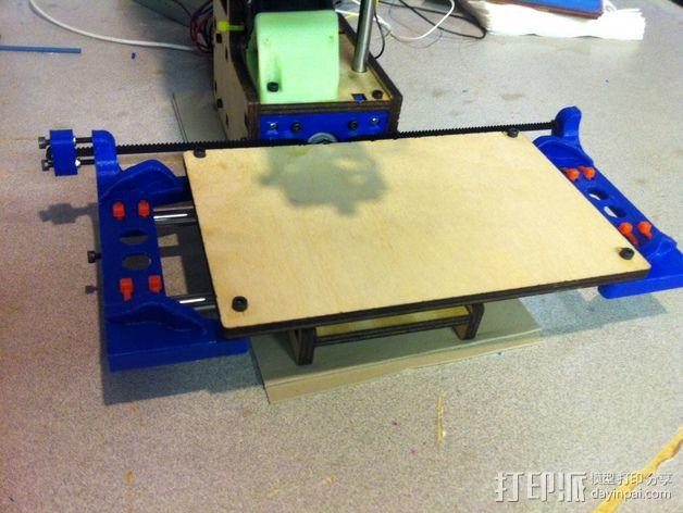 Printrbot打印机X轴部件 3D模型  图6