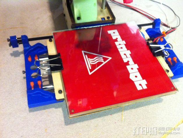 Printrbot打印机X轴部件 3D模型  图7
