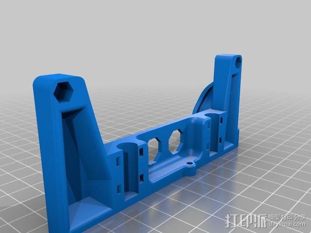 Printrbot打印机X轴部件 3D模型  图13