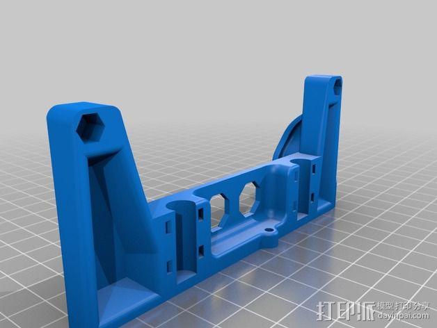 Printrbot打印机X轴部件 3D模型  图14