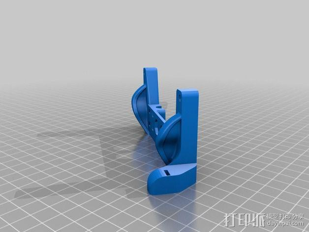 Printrbot打印机X轴部件 3D模型  图17