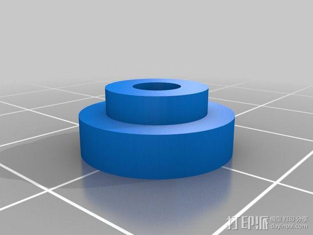 Printrbot打印机X轴部件 3D模型  图19