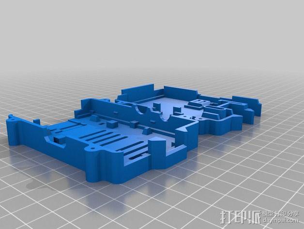 Kossel打印机相机座 3D模型  图2
