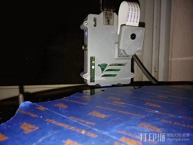 Kossel打印机相机座 3D模型  图5