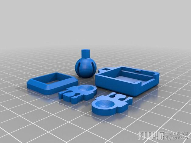 Kossel打印机相机座 3D模型  图12