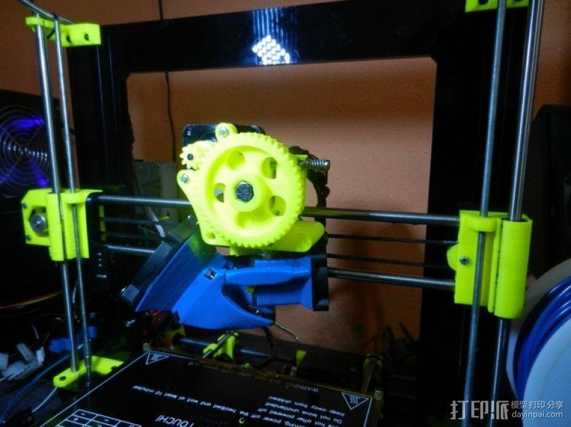 风扇架 打印喷头固定架 3D模型  图2