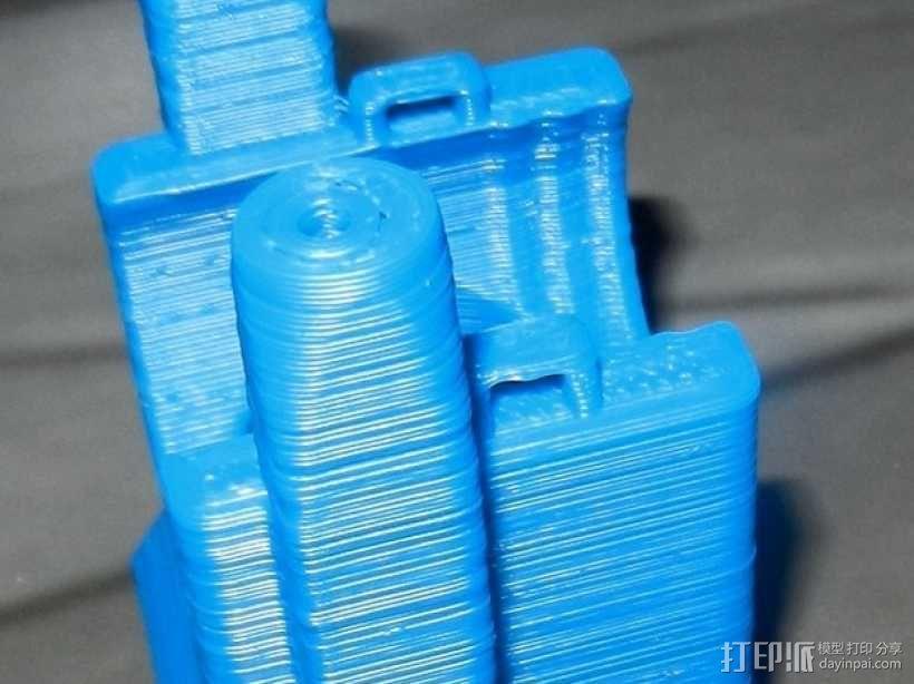 风扇架 打印喷头固定架 3D模型  图9