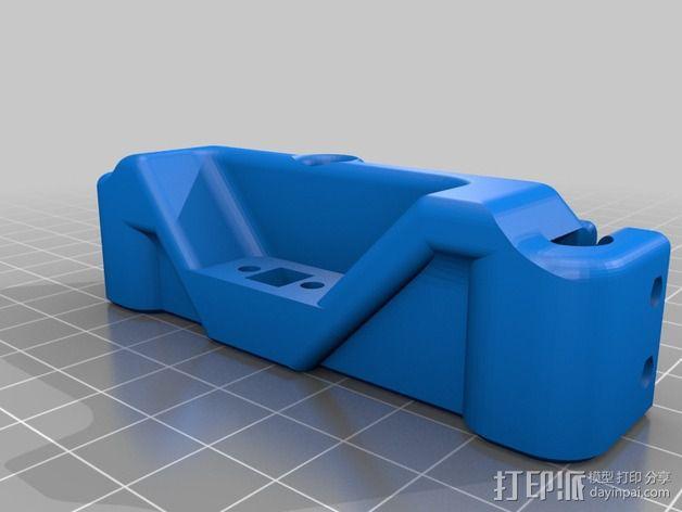 Printrbot打印机 Y轴部件 3D模型  图2