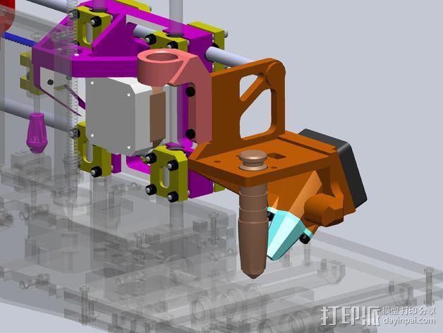 Printrbot打印机 Y轴部件 3D模型  图4