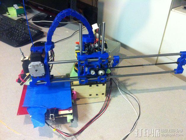Printrbot打印机 Y轴部件 3D模型  图7