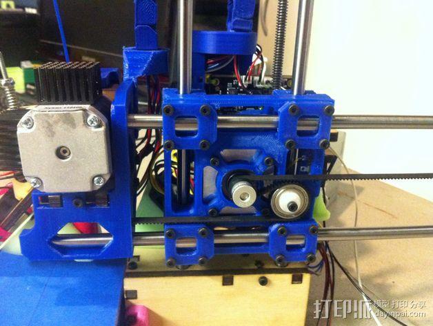 Printrbot打印机 Y轴部件 3D模型  图8