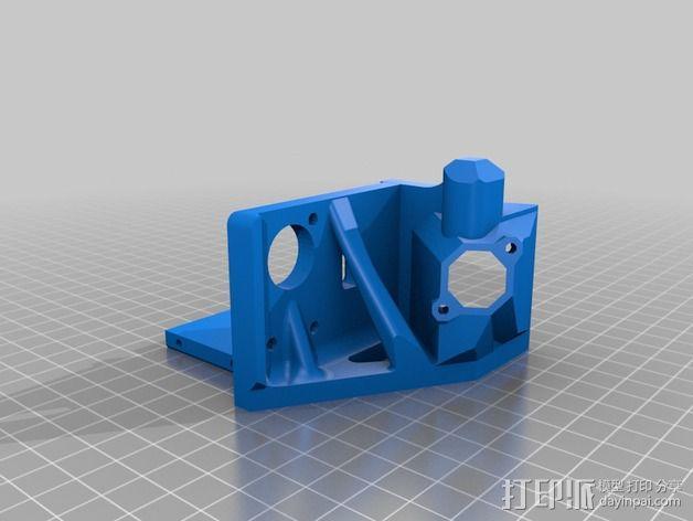 Printrbot打印机 Y轴部件 3D模型  图12