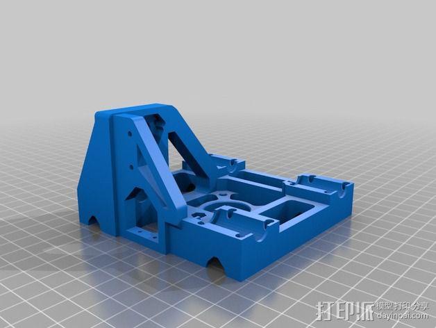 Printrbot打印机 Y轴部件 3D模型  图14