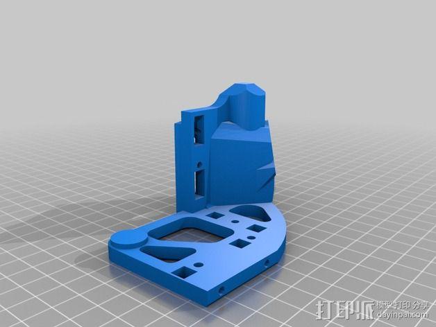 Printrbot打印机 Y轴部件 3D模型  图15