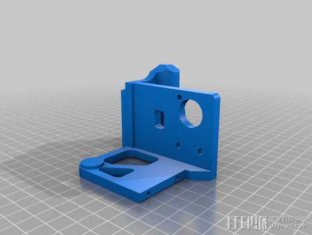 Printrbot打印机 Y轴部件 3D模型  图16