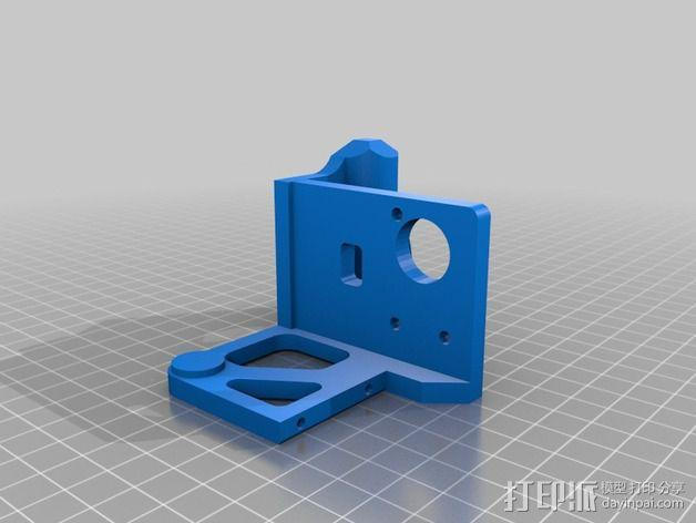 Printrbot打印机 Y轴部件 3D模型  图17