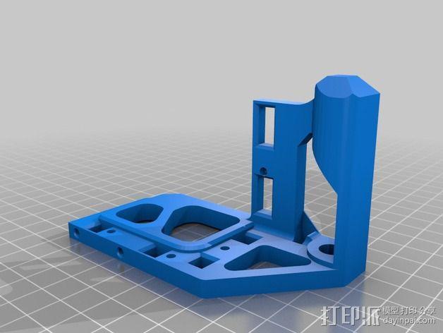 Printrbot打印机 Y轴部件 3D模型  图19