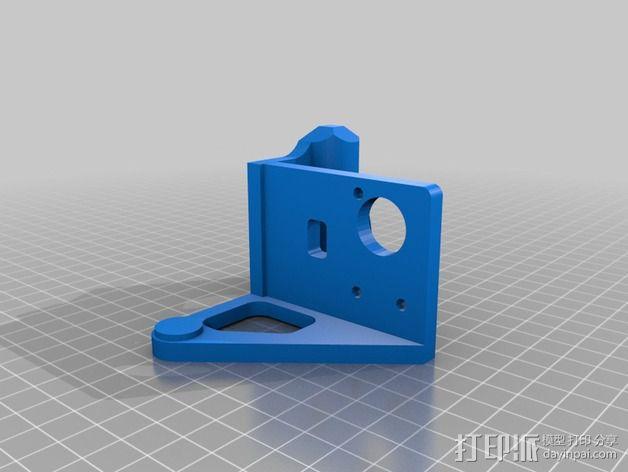 Printrbot打印机 Y轴部件 3D模型  图18