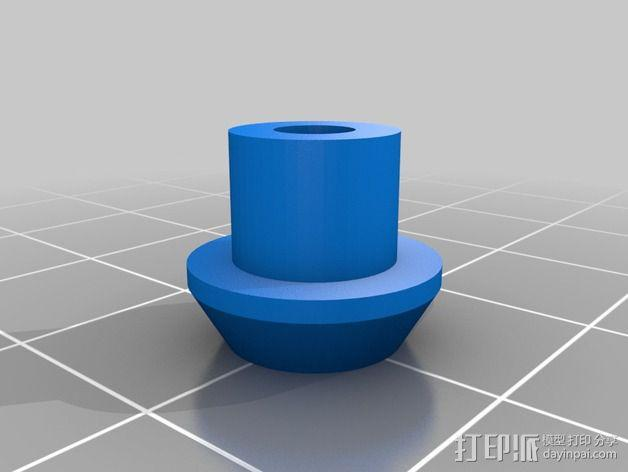 Printrbot打印机 Y轴部件 3D模型  图23