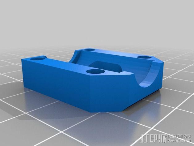 Printrbot打印机 Y轴部件 3D模型  图22