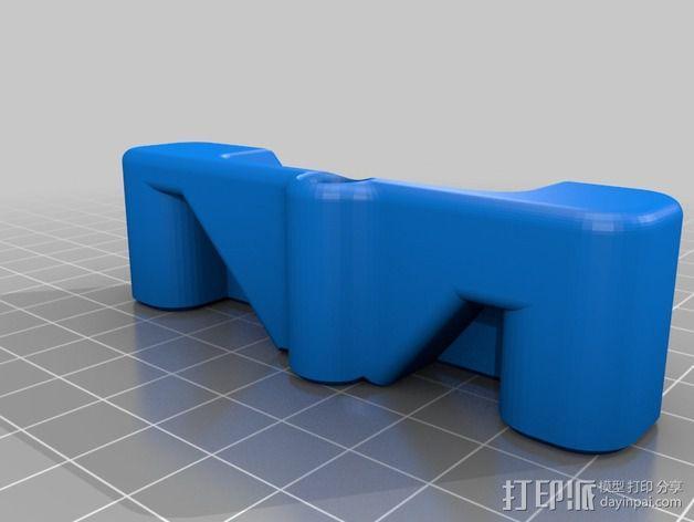 Printrbot打印机 Y轴部件 3D模型  图21