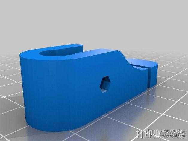 Printrbot打印机 Y轴部件 3D模型  图25