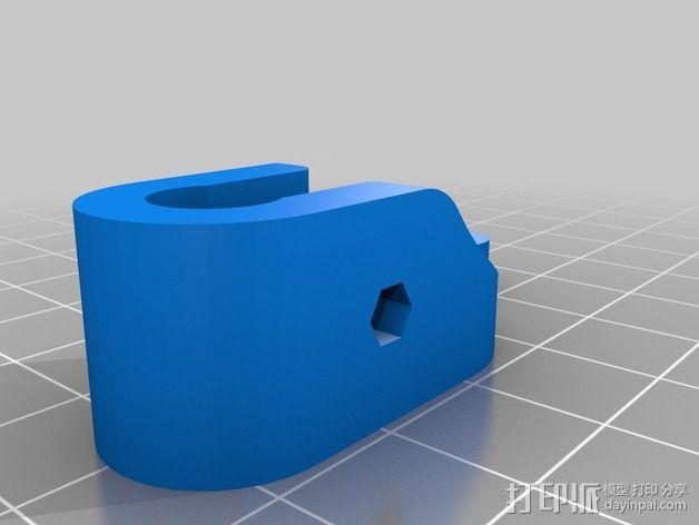 Printrbot打印机 Y轴部件 3D模型  图26