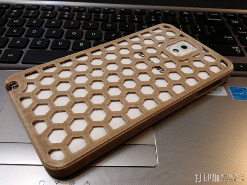 三星Galaxy Note 3 手机套 3D模型  图3