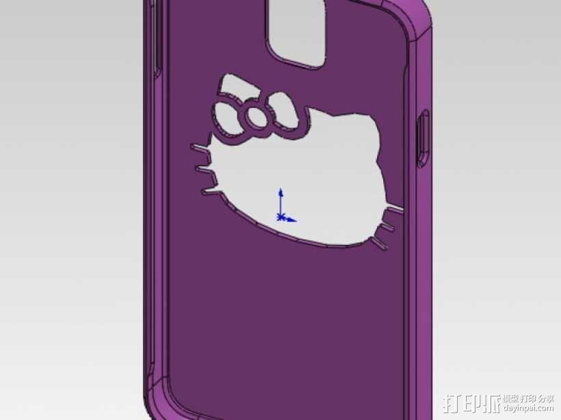 三星Galaxy Note 3 手机套 3D模型  图7