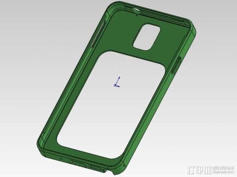 三星Galaxy Note 3 手机套 3D模型  图10